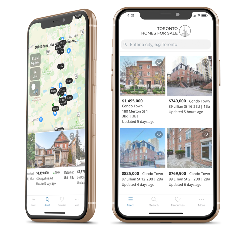 Toronto Homes for sale app